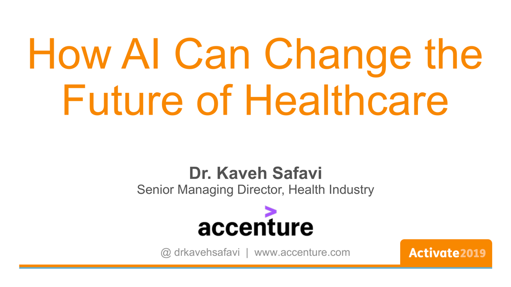 How AI Can Change the Future of Healthcare