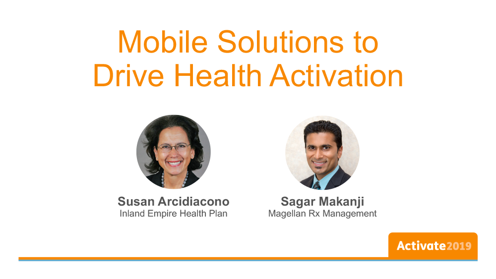 Mobile Solutions to Drive Health Activation